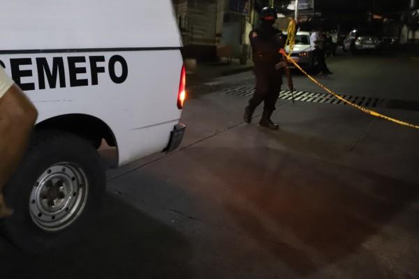 Los elementos de seguridad, procedieron a informar al Ministerio Público, sobre los hechos. Foto: Cuartoscuro
