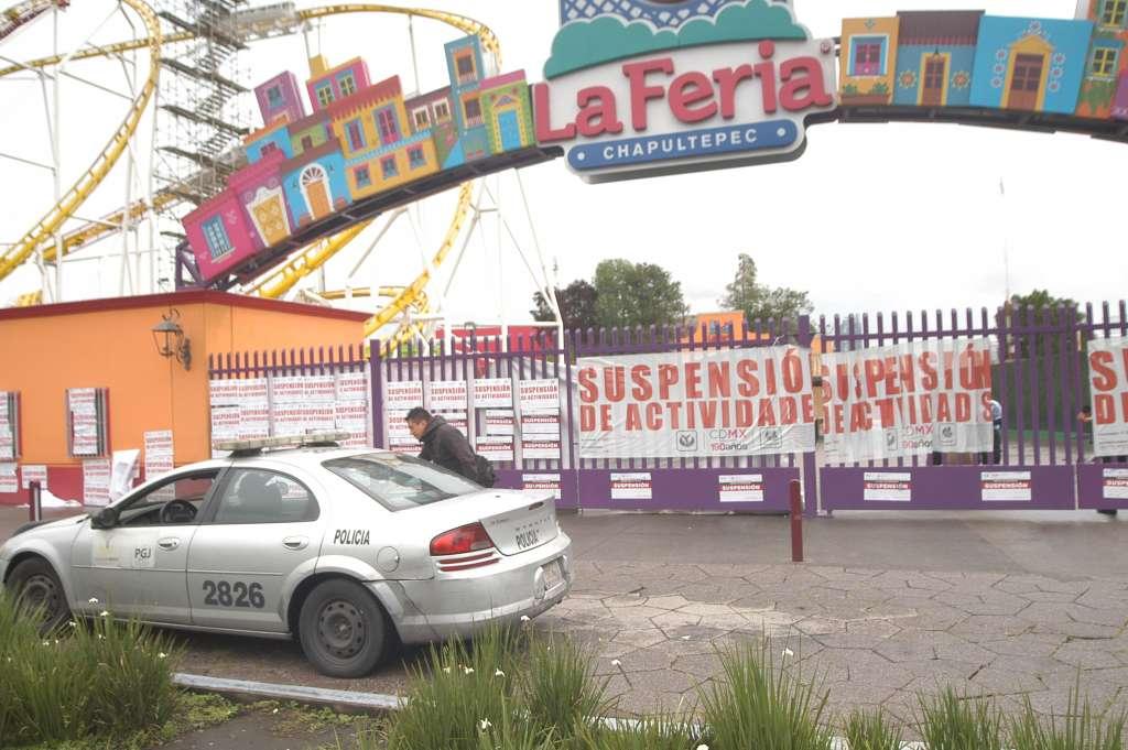 INDAGAN CAUSA. La Feria de Chapultepec aseguró que aportará con transparencia, información sobre lo ocurrido. Foto: Cuartoscuro