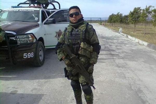 Ángel Tellez Nicolás, el elemento fallecido de la Guardia Nacional. Foto tomada de Facebook
