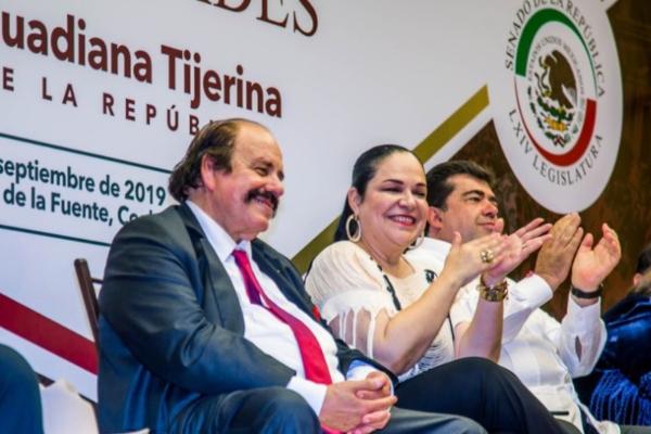 El senador de Morena, Armando Guadiana. Foto: @aguadiana