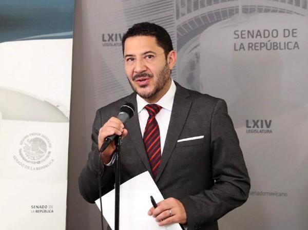 Martí Batres, senador de Morena. Foto: Especial