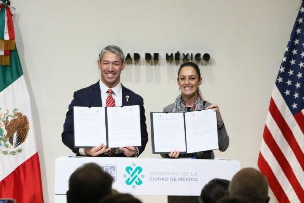Ambas ciudades colaborarán en temas de desarrollo económico, medio ambiente y movilidad. Foto: Cuartoscuro