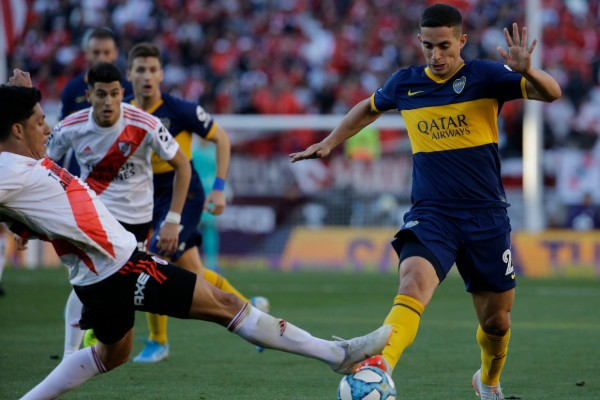 River y Boca jugarán la semifinal de ida en el Monumental. AP
