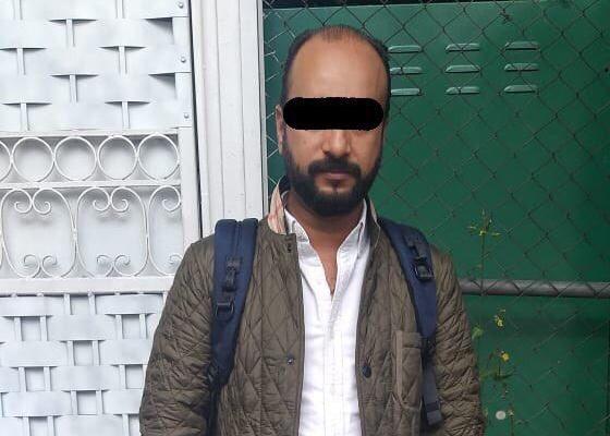 El individuo fue detenido y puesto a disposición del Ministerio Público. FOTO: ESPECIAL