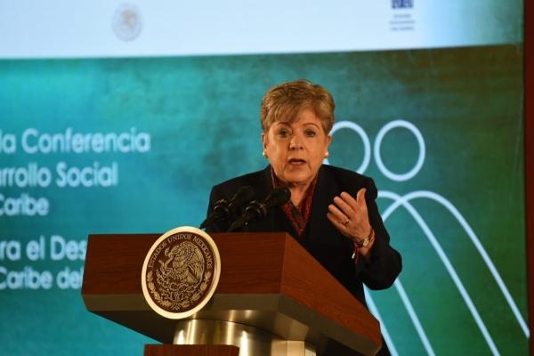 Secretaria Ejecutiva de la Comisión Económica para América Latina y el Caribe (CEPAL),Alicia Bárcena. Foto: Daniel Ojeda