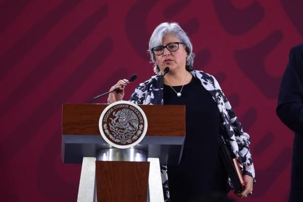 Graciela Márquez Colín, secretaria de Economía. Foto: Presidencia
