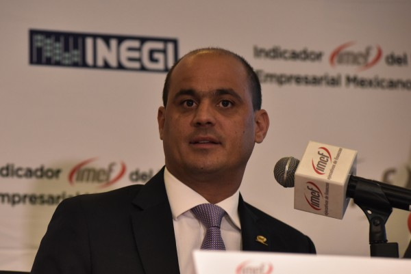 Fernando López Macari, presidente del IMEF.  FOTO: NOTIMEX