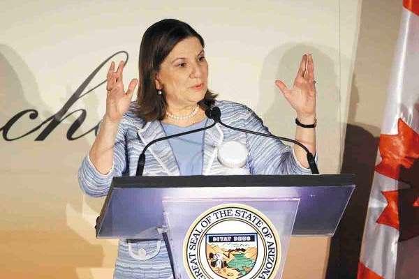 Martha Bárcena Coqui, embajadora de México en Estados Unidos. Foto: AP