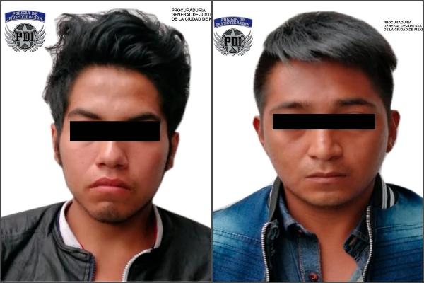 Capturan a los payasos, presuntos secuestradores de dos jóvenes. Foto: Cortesía