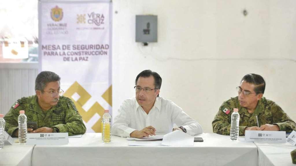 COMPROMISO. El gobernador Cuitláhuac García dijo que habrá justicia. Foto: Especial