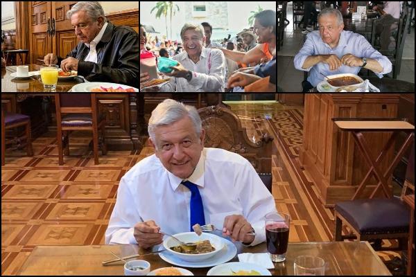 El presidente es un promotor de la comida tradicional. Foto: Presidencia