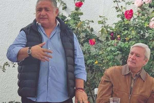 Amador Rodríguez Lozano, próximo Secretario General de Gobierno de Baja California y Jaime Bonilla Valdez, gobernador electo del estado. Foto: Atahualpa Garibay