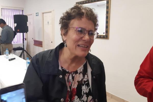La presidenta del Consejo Nacional del partido Movimiento Regeneración Nacional. Foto: Carlos Juárez