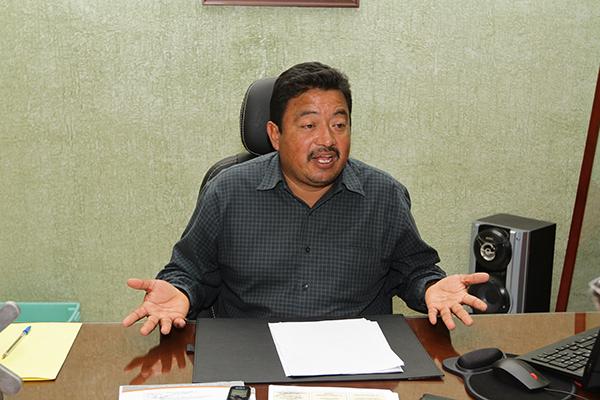 Juan Pedro Cruz Frías, presidente municipal de Tlahuelilpan. FOTO: NOTIMEX