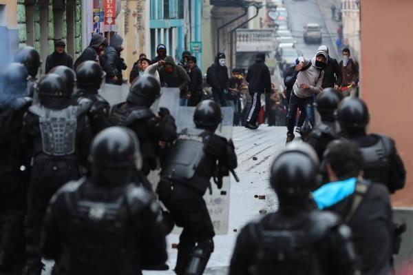 Ecuador se muestra en problemas tras los anuncios de cambios económicos. EFE