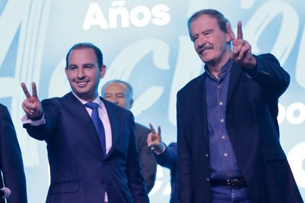 Vicente Fox prefiere ligarse con los de Coapa. Notimex