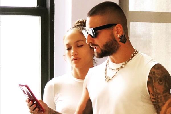 Maluma y Jennifer López comenzaron las grabaciones. Instagram