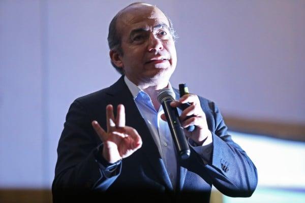 Felipe Calderón, expresidente de México. Cuartoscuro