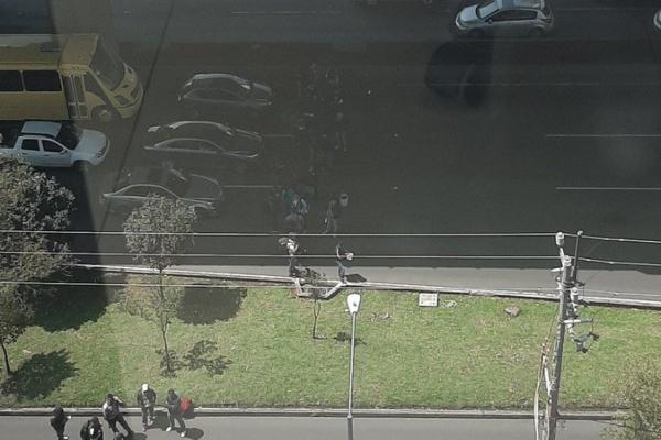 Reporte Vial: Manifestantes cierran la circulación en Periférico Sur