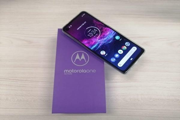 Motorola One Action. Foto: Heraldo de México.
