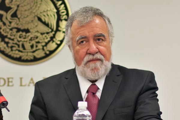 Alejandro Encinas, funcionario de la Segob. Foto: Especial.