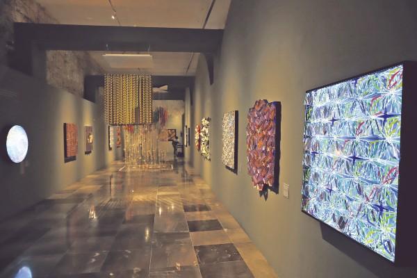 EXPOSICIÓN. Actualmente se exhibe la obra de la mexicana Irene Zundel. Foto: Víctor Gahbler