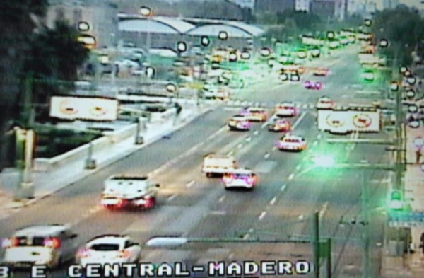 El Eje Central Lázaro Cárdenas tiene buen avance desde Fray Servando hasta Plaza Garibaldi. FOTO: Especial