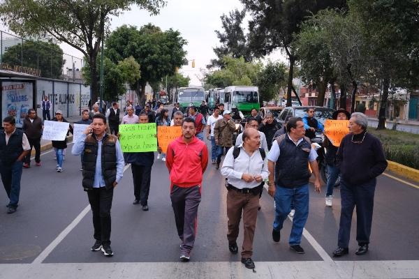 A las 10:00 horas, un grupo de personas pertenecientes al Movimiento Nacional por la Esperanza se concentrará en Viaducto Río de la Piedad. FOTO: Cuartoscuro