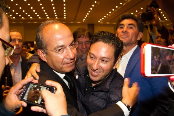 El expresidente Felipe Calderón. Foto: Cuartoscuro
