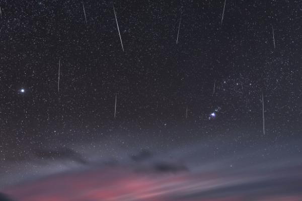 lluvia de estrellas fugaces draconidas visibles en mexico