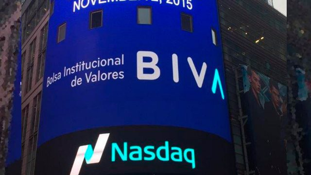 Bolsa Institucional de Valores (BIVA). Foto: Twitter @BIVAMX