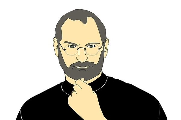 Steve Jobs. Imagen: Pixelbay
