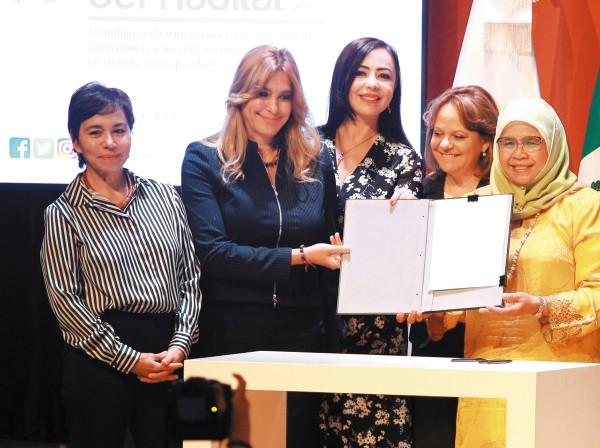 SIGNAN PACTO. Fue firmado el acuerdo entre México y la ONU. Foto: ENFOQUE