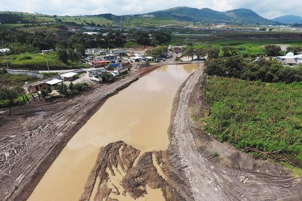 AFLUENTE EN RIESGO. Expertos advierten que la contaminación del río Atoyac es grave, sobre todo en la zona metropolitana de Puebla. Foto: ENFOQUE