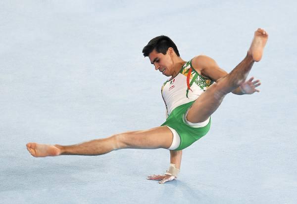 LISTO. El mexicano participará en el all around del próximo año. Foto: AFP