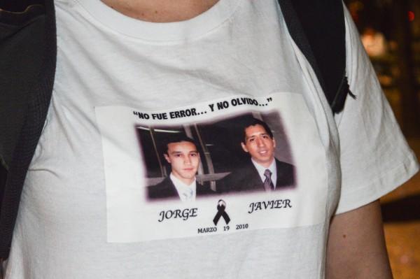 Jorge Antonio Mercado y Javier Francisco Arredondo, son los estudiantes del Instituto Tecnológico de Estudios Superiores de Monterrey, asesinados el 19 de marzo de 2010 por elementos de Ejército Mexicano. Foto: Cuartoscuro