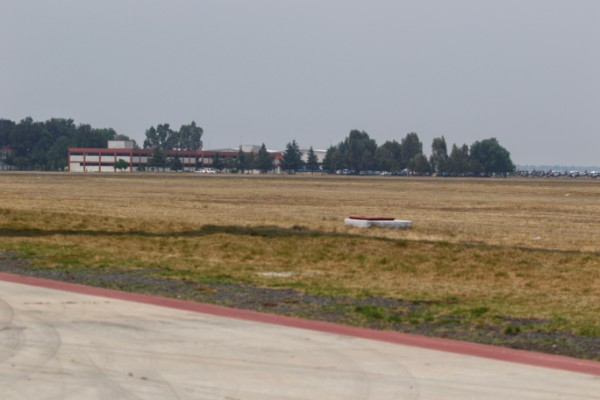 Terrenos en la base militar de Santa Lucía, en donde se construirá el nuevo Aeropuerto de la Ciudad de México. Foto: Cuartoscuro