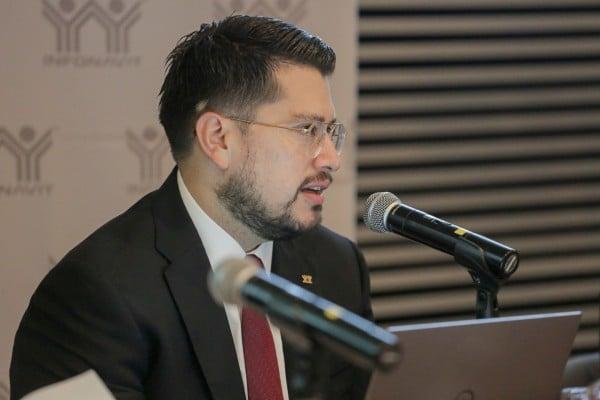 Carlos Martínez Velázquez, director general del Infonavit. Foto: Especial