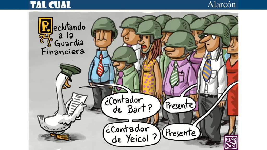 Tal Cual: Guardia Financiera