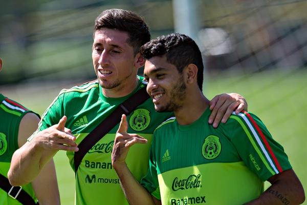 Héctor Herrera y Jesús Corona, en selección. Mexsport