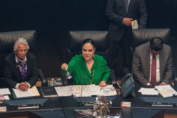 Mónica Fernández Balboa Eduardo Medina Mora Senado El Heraldo Radio