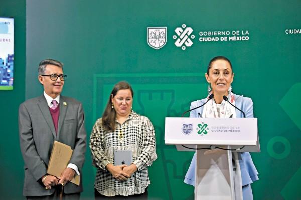 NO VA MÁS. La jefa de Gobierno señaló de corruptos a exfuncionarios de la Secretaría de Movilidad. Foto: Especial