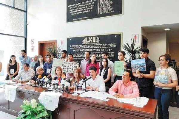 PROTECCIÓN. Carlos Gandarilla llamó a crear conciencia. Foto: Especial.