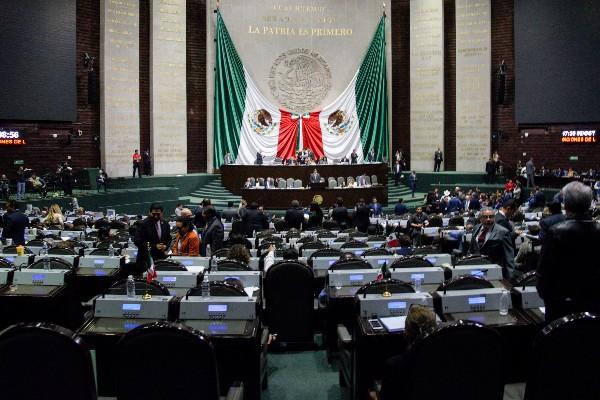 Sesión Ordinaria de la Cámara de Diputados en la que se discutió la Ley de Austeridad Republicana FOTO: MARIO JASSO /CUARTOSCURO.COM