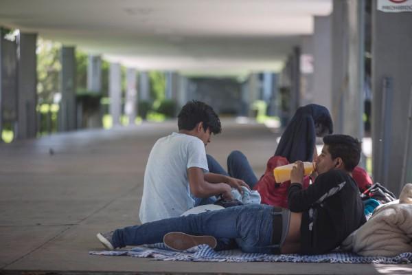 En Morelia, el paro laboral en la UMSNH impacta a la matrícula estudiantil de bachillerato y licenciaturas. Foto: Cuartoscuro