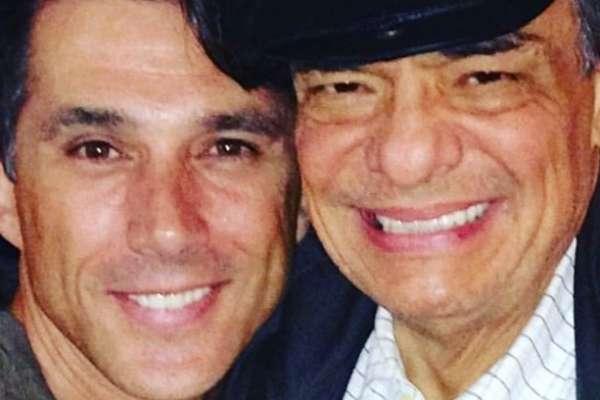 El diputado de Morena, Sergio Mayer junto al cantante José José. Foto: Instagram sergiomayerb