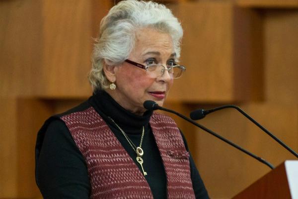 La titular de la Secretaría de Gobernación, Olga Sánchez Cordero. Foto: Especial.