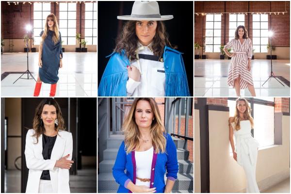 Ellas seis son las mujeres más cool. Fotos: Yaz Rivera