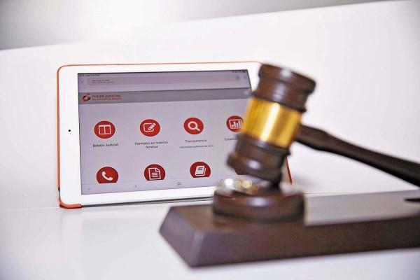 TELEJUSTICIA. El Juzgado Familiar en Línea es operado por el Poder Judicial estatal. Foto: Especial