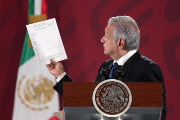 El presidente Andrés Manuel López Obrado. Foto: Presidencia